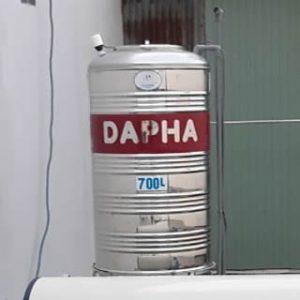 BỒN NƯỚC INOX 700 LÍT ĐỨNG DAPHA