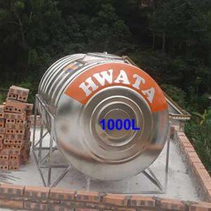 BỒN NƯỚC INOX 1000L NGANG HWATA