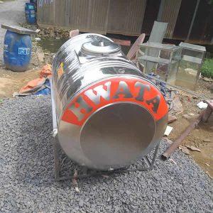 BỒN NƯỚC INOX 500L NGANG HWATA