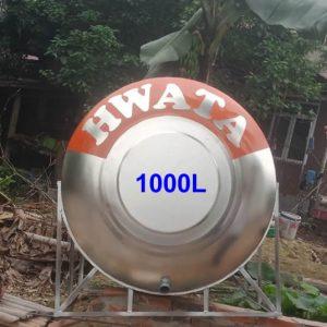 BỒN NƯỚC INOX HWATA 1.000 LÍT NẰM
