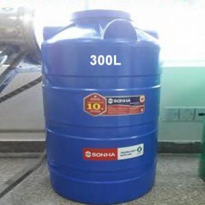 Bồn nhựa Sơn Hà 300L đứng