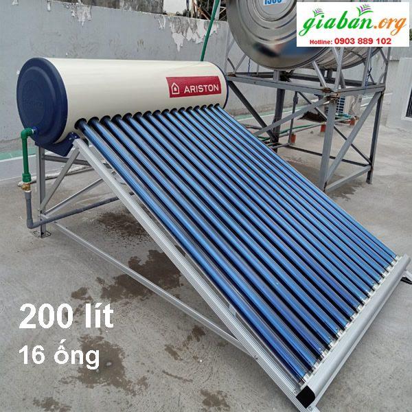 Máy nước nóng năng lượng mặt trời Ariston 200l