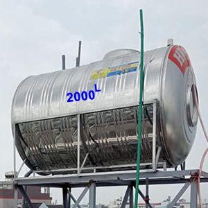 Bồn nước inox 2000l Hwata