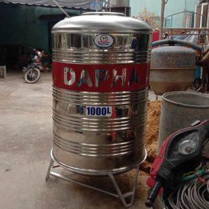 Bồn nước inox 1000 lít đứng Dapha