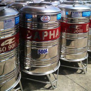 Bồn nước inox 500 lít dapha