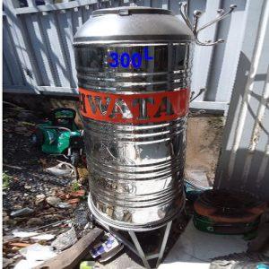 Bồn nước inox Hwata 300 lít đứng