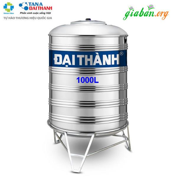 BỒN NƯỚC INOX 1000L ĐẠI THÀNH