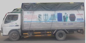 vận chuyển bồn nước đại thành