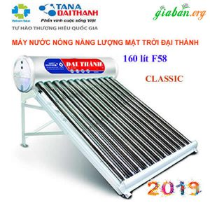 Máy nước nóng năng lượng mặt trời Đại Thành 160l
