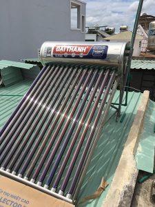 Máy năng lượng mặt trời 160 lít