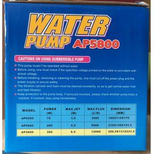 bơm hồ cá ap5800 Lifetech