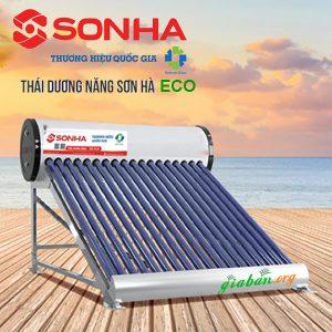 Máy nước nóng mặt trời thái dương năng Eco