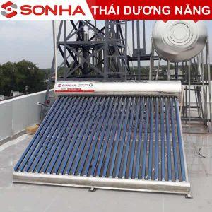 máy nước nóng năng lượng mặt trời sơn hà 160l