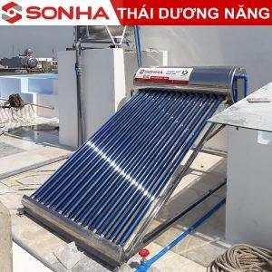 máy nước nóng năng lượng mật trời Sơn Hà 200l