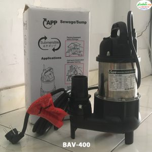 MÁY BƠM NƯỚC APP BAV-400