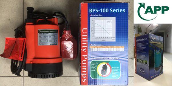 MÁY BƠM NƯỚC THẢI APP BPS-100A