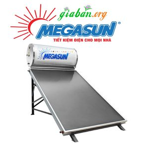 Máy nước nóng năng lượng mặt trời Megasun 200L tấm kình
