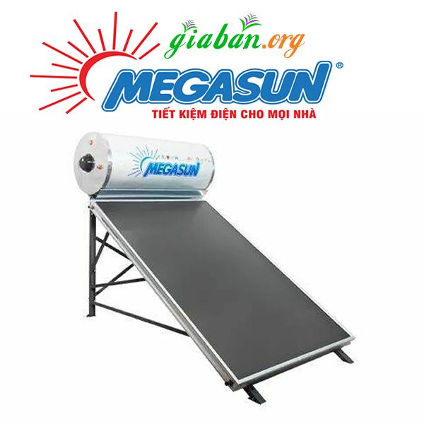 Máy nước nóng năng lượng mặt trời Megasun 150L tấm kính