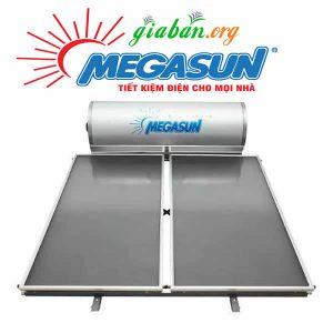 Máy nước nóng năng lượng mặt trời Megasun 300L tấm kính