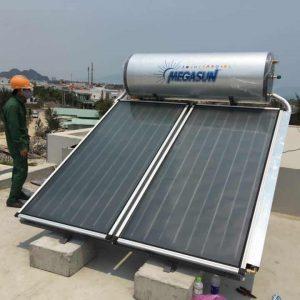 máy nước nóng năng lượng mặt trời chịu áp 300l Megasun