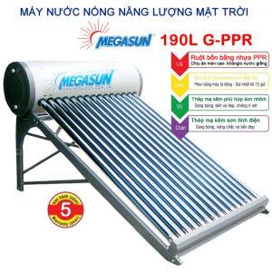máy nước nóng năng lượng mặt trời Megasun 190l G-PPR