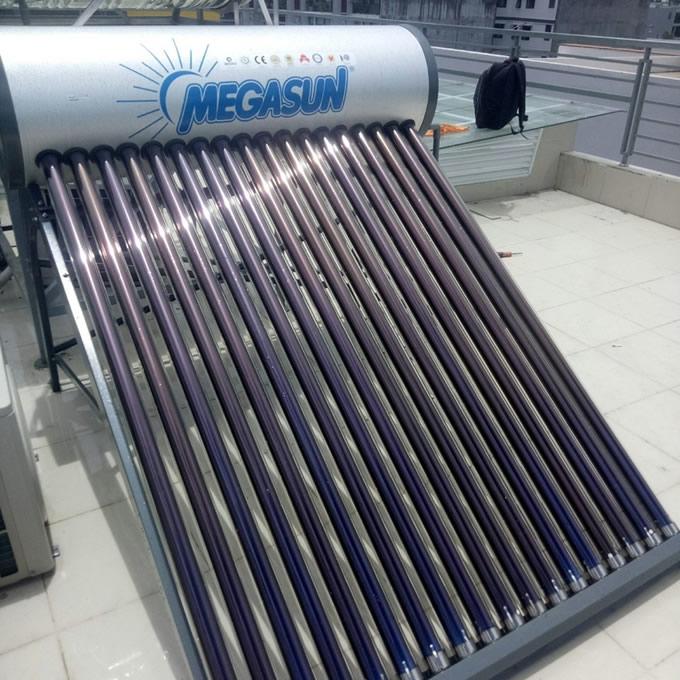 máy năng lượng mặt trời Megasun 150l KAE