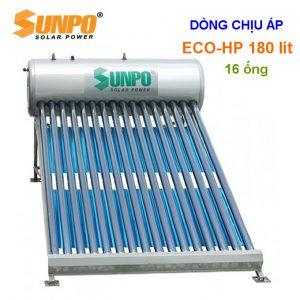 máy nước nóng năng lượng mặt trời chịu áp sunpo 180l