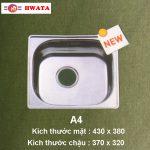 chau rau chen inox 304 hwata A4