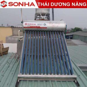 GIá bình nước nóng năng lượng mặt trời Sơn Hà 260L