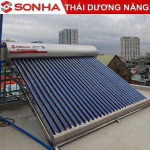 GIá máy nước nóng năng lượng mặt trời Sơn Hà 260L