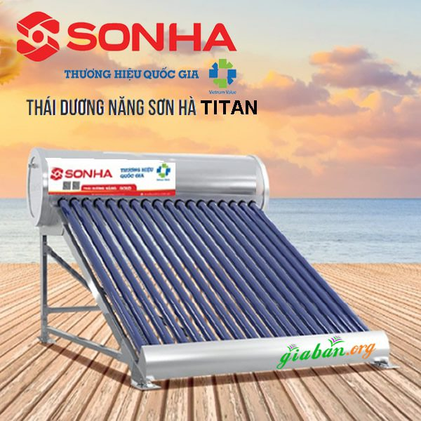 Máy nước nóng mặt trời thái dương năng titan