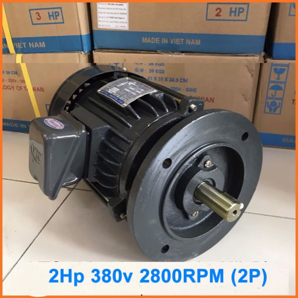 Motor mặt bích VTC 2hp tua 2800