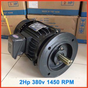Motor mặt bích VTC 2hp tua 1450