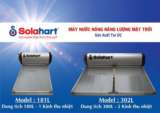 Máy nước nóng mặt trời SOLAHART