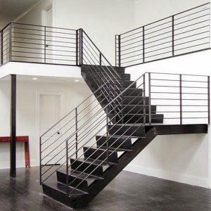 giá cầu thang sắt