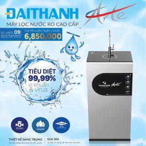 máy lọc nước ro đại thành Arte 9 lỗi