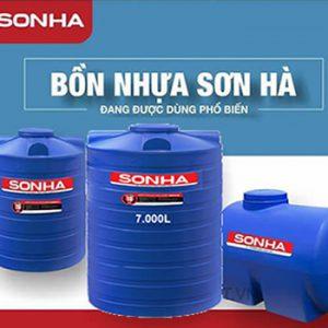 Bồn nhựa 7000l Sơn Hà